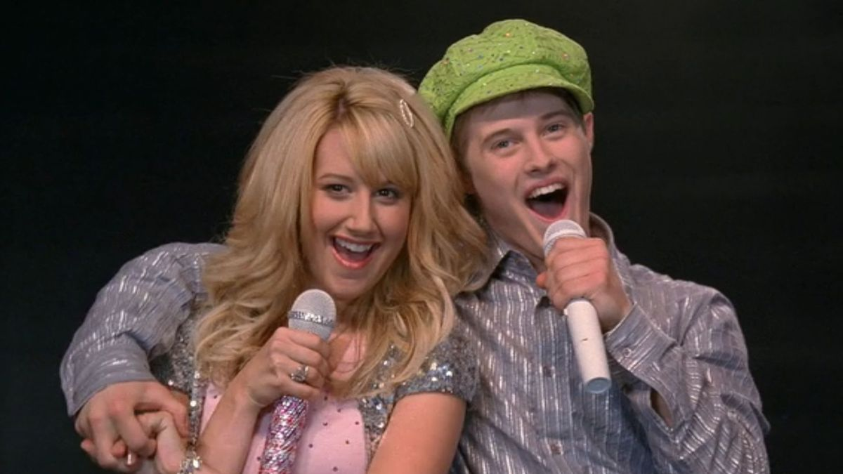 ryan and sharpay in high school musical