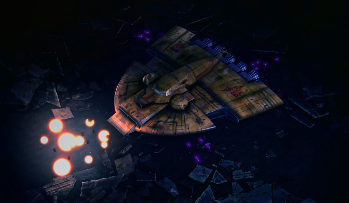 The Ark in Transformers: War for Cybertron - Siege