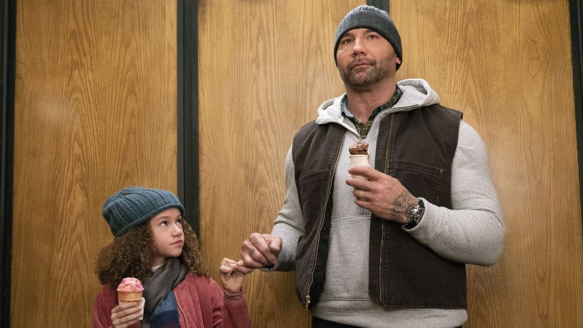chloe coleman and dave bautista in my spy