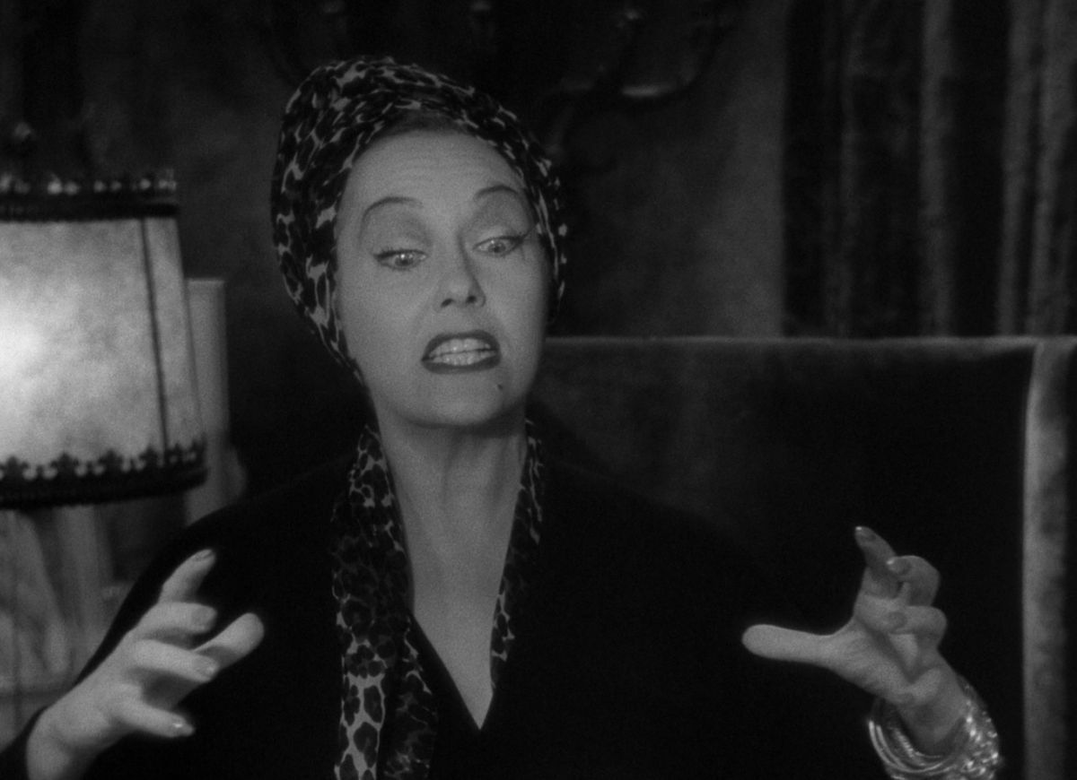 Norma Desmond is ready for her close-up, Mr. Demille